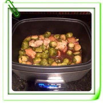 Crock Pot Chicken With Brussel Sprouts