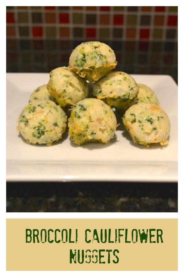 broccoli cauliflower nuggets recipe