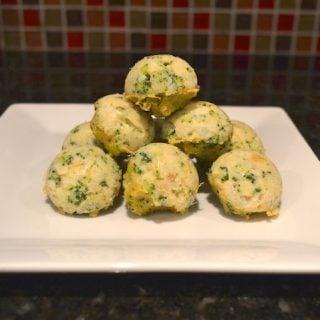 Broccoli and Cauliflower Nuggets