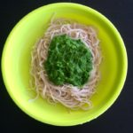 Kid Friendly Raw Pesto Sauce