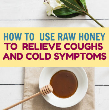 Did you know that using raw honey for coughs & colds is even more effective than most OTC medicines? Check out the benefits & how to choose the right honey!