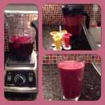 Beet Berries Apple Smoothie And Ice Pops