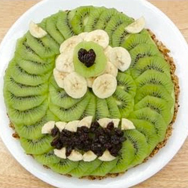 Monsters Inc Healthy Fruit Tart