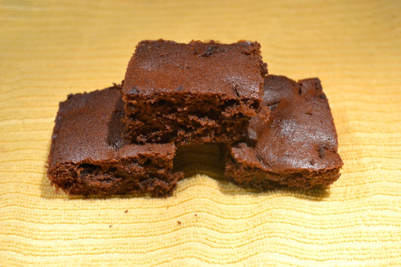 Homemade Mini Brownies