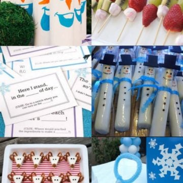 Planning a Disne'ys Frozen party for kids? You need this guide! From fun Frozen food ideas to party activities, it has everything you need for the best day!