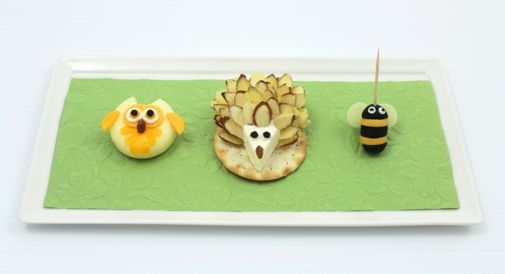 Three Adorable Cheesy Appetizers