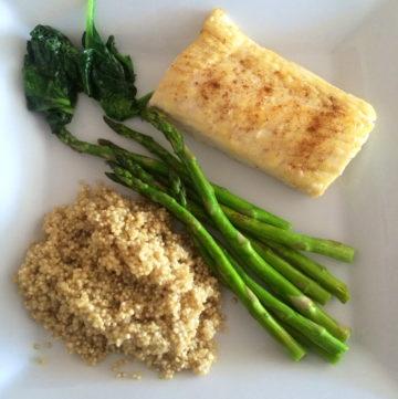 Wild Mahi Mahi With Quinoa