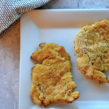 Healthy Breaded Chicken Cutlets