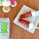 Fruity Coconut Water Ice Pops