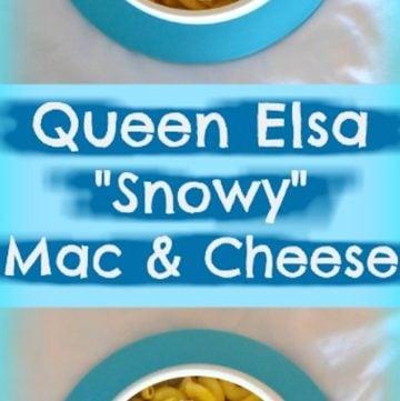 Queen Elsa Snowy Mac And Cheese Recipe