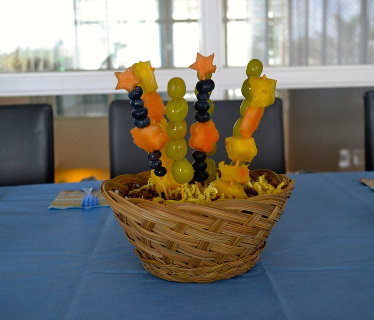 Fruit Flower Centerpieces