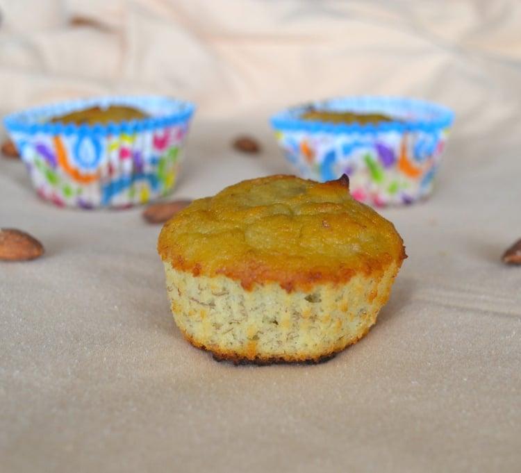 Homemade Almond Flour Banana Muffins