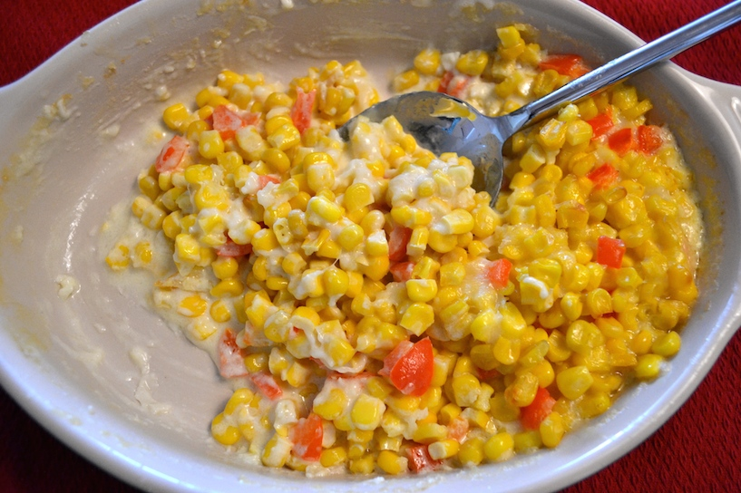corn casserole for thanksgiving