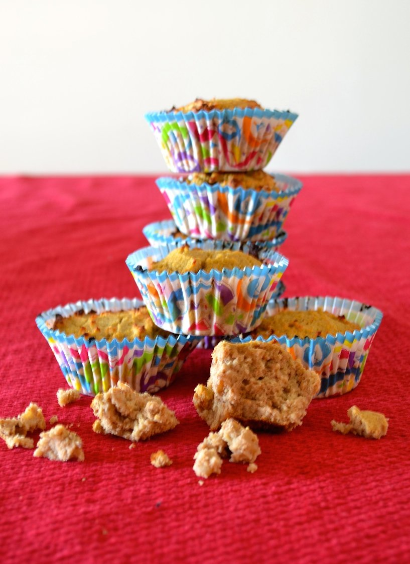 Super Healthy Banana Muffins