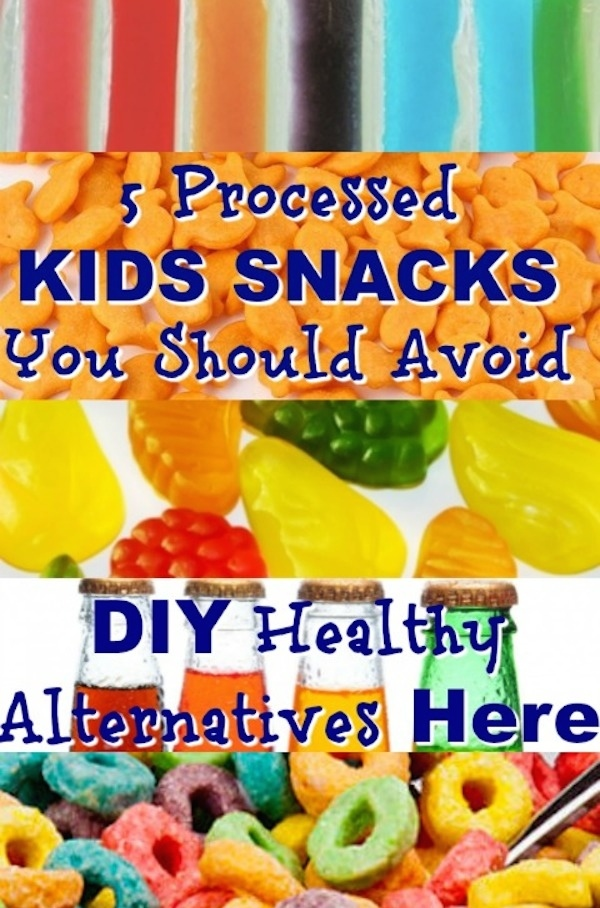 5 Processed Kids Snacks You Should Avoid