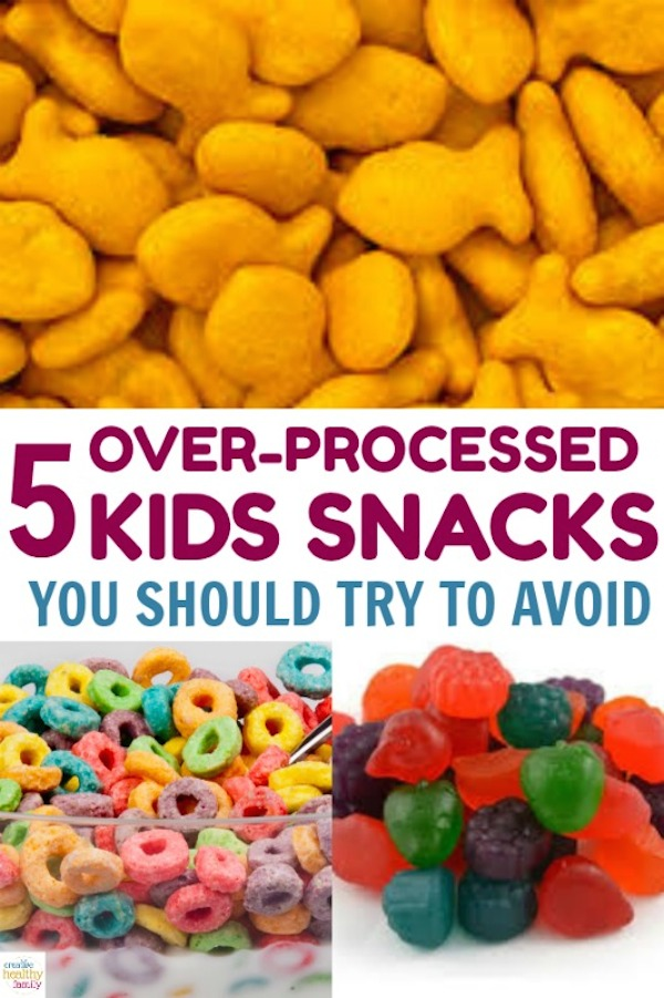 5 over-processed kids snacks you should try to avoid at all costs.