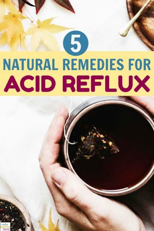 Best natural remedies for acid refluxx