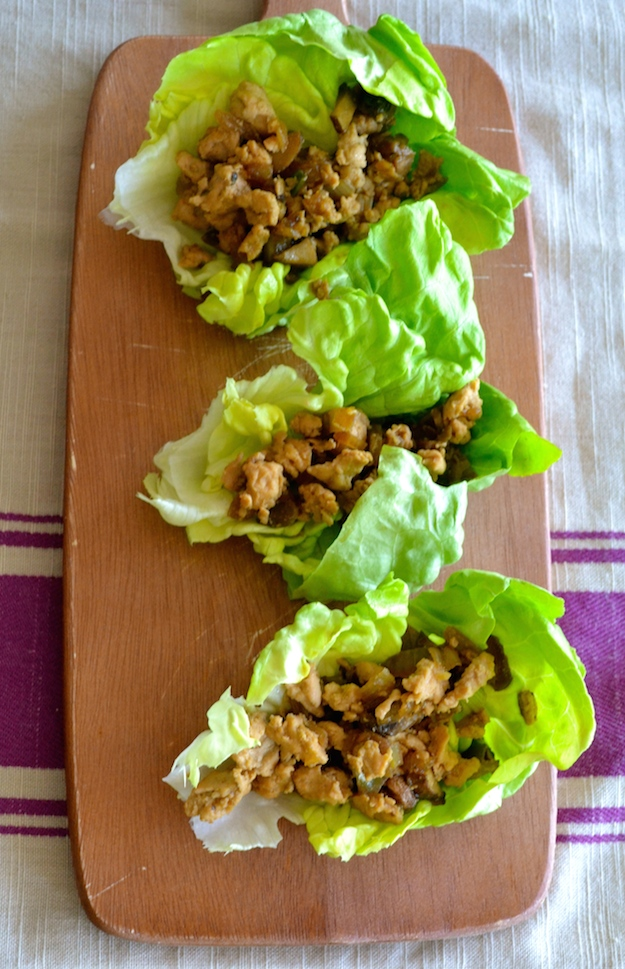 20 Minute Perfect Chicken Lettuce Wraps