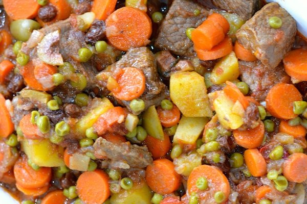 Comforting Organic Grass Fed Beef Stew