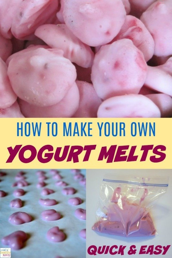 how to make your own yogurt melts