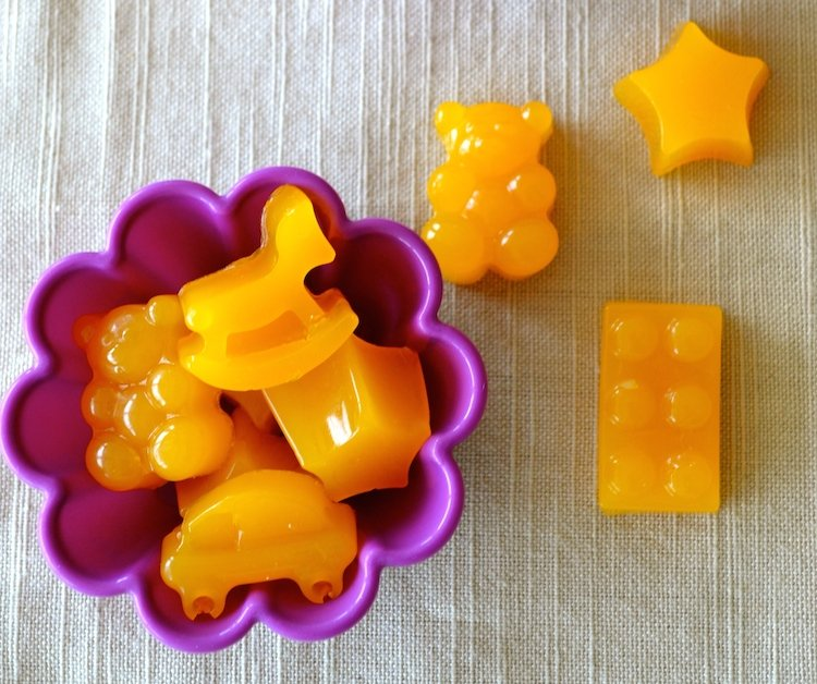 homemade real non-gmo vitamin c gummies