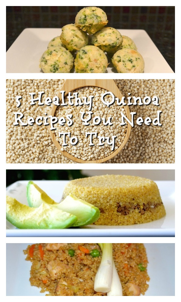 5 healthy quinoa recipes you need to try