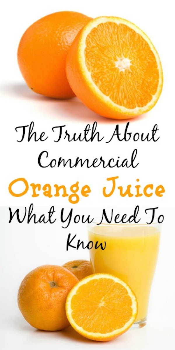 how is commercial orange juice made