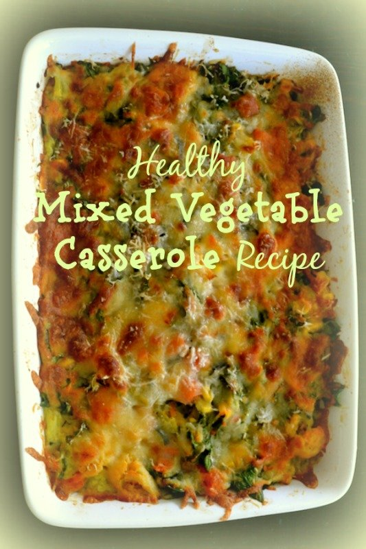Healthy Mixed Vegetable Casserole Recipe
