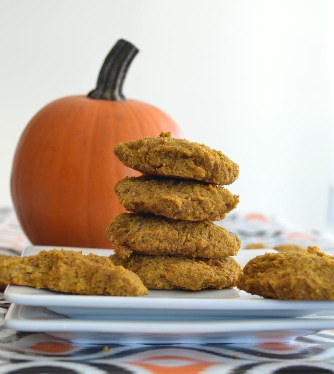 Healthy Almond Flour Pumpkin Cookies