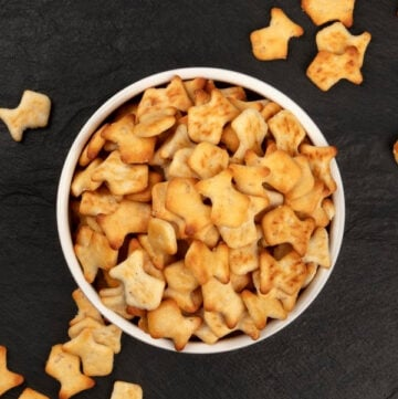 DIY Gluten Free Goldfish Crackers Made with Just 2 Ingredients