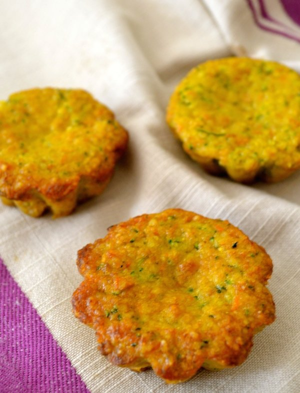 Zucchini And Carrot Muffins