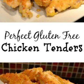 Perfect Gluten Free Chicken Tenders