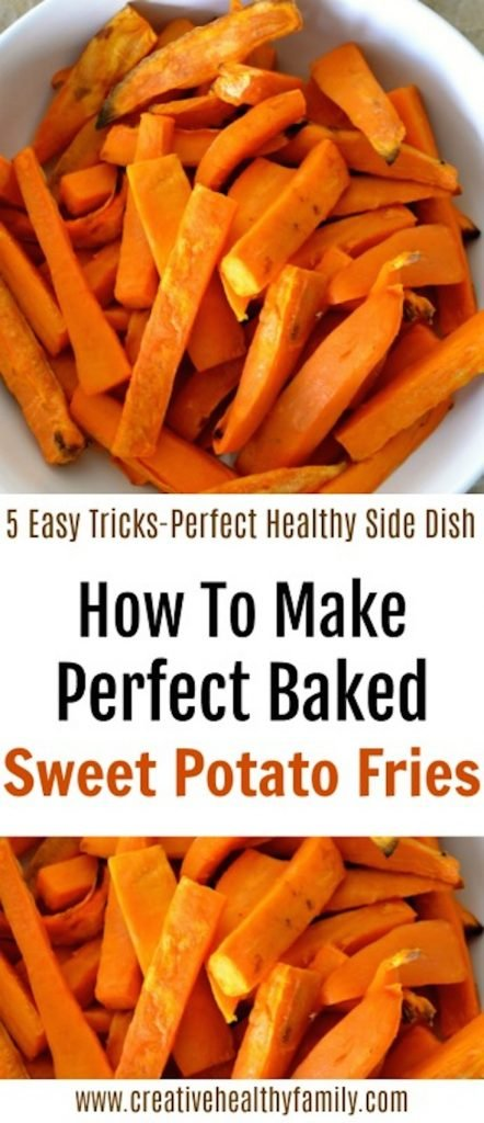 How To Make Perfect Baked Sweet Potato Fries