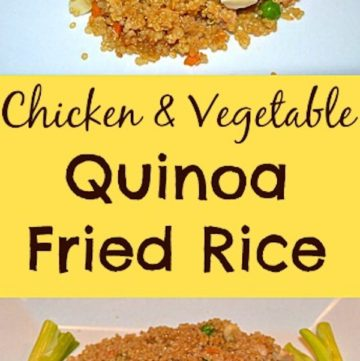 Chicken And Vegetable Quinoa Fried Rice