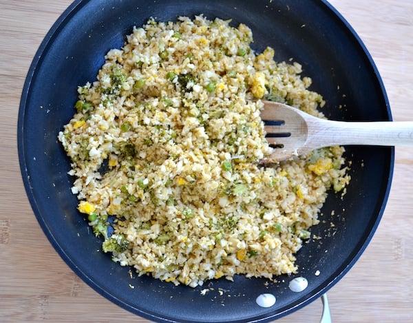 Easy Chinese Cauliflower Fried Rice