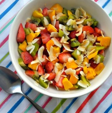 Perfect Rainbow Summer Fruit Salad Recipe