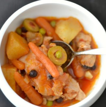 Homey Hearty Potato Chicken Stew