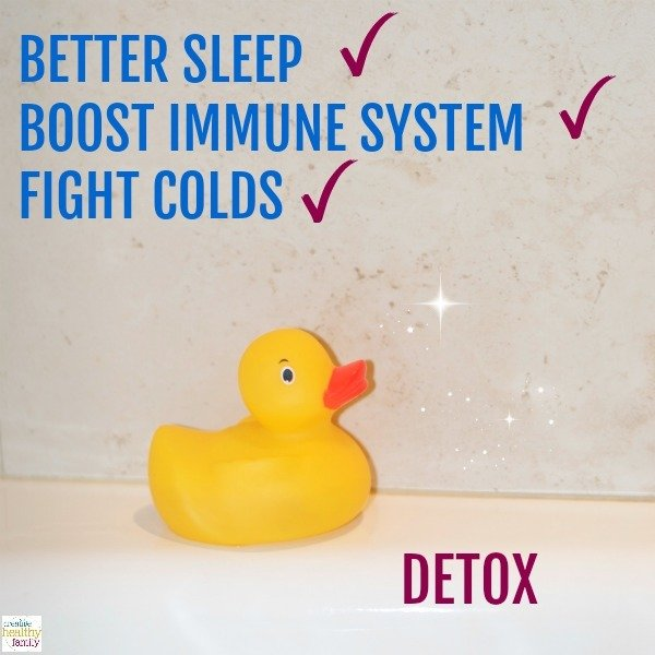 detox bath for kids