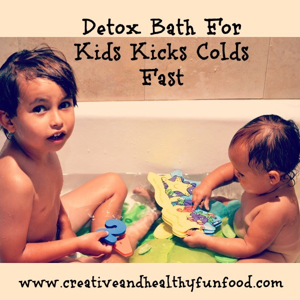Detox Bath For Kids