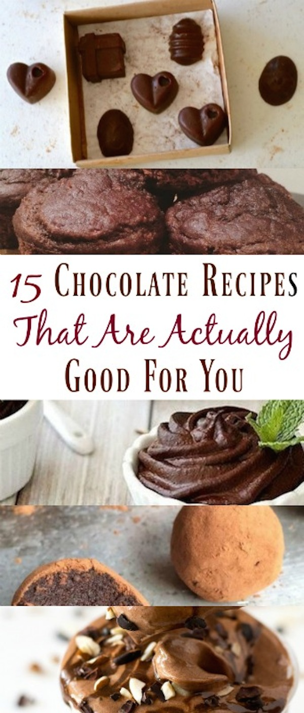 chocolate recipes that are good for you
