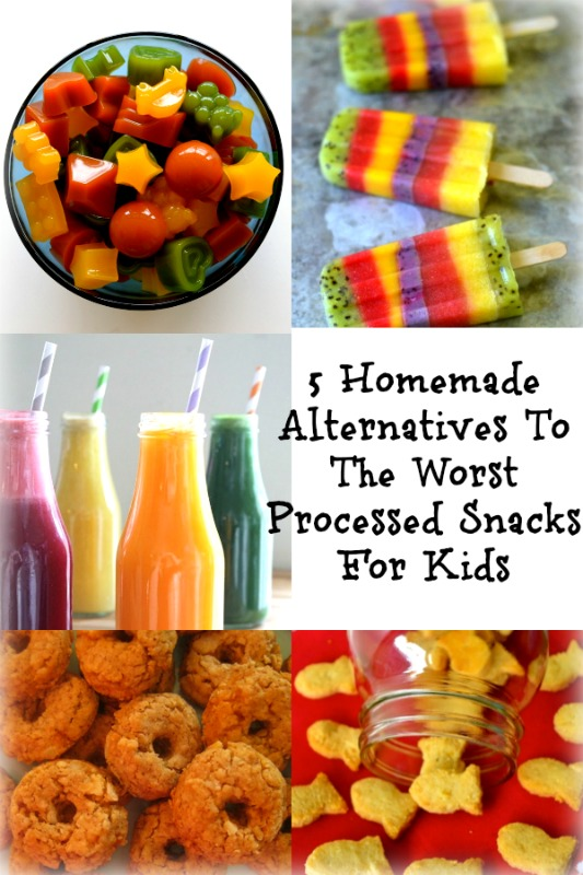 homemade alternatives to processed snacks