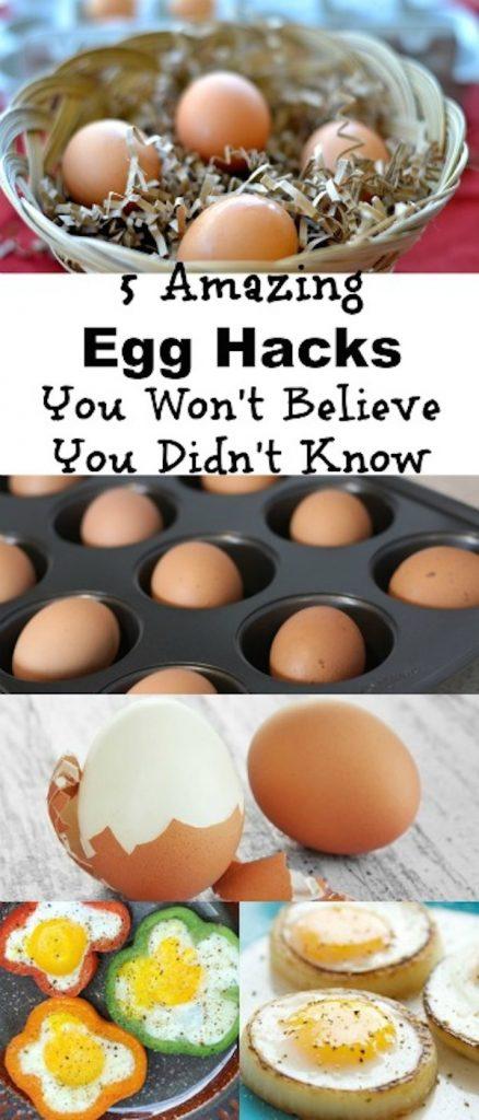 5 amazing egg hacks