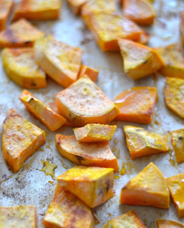 Easy Healthy Roasted Sweet Potatoes