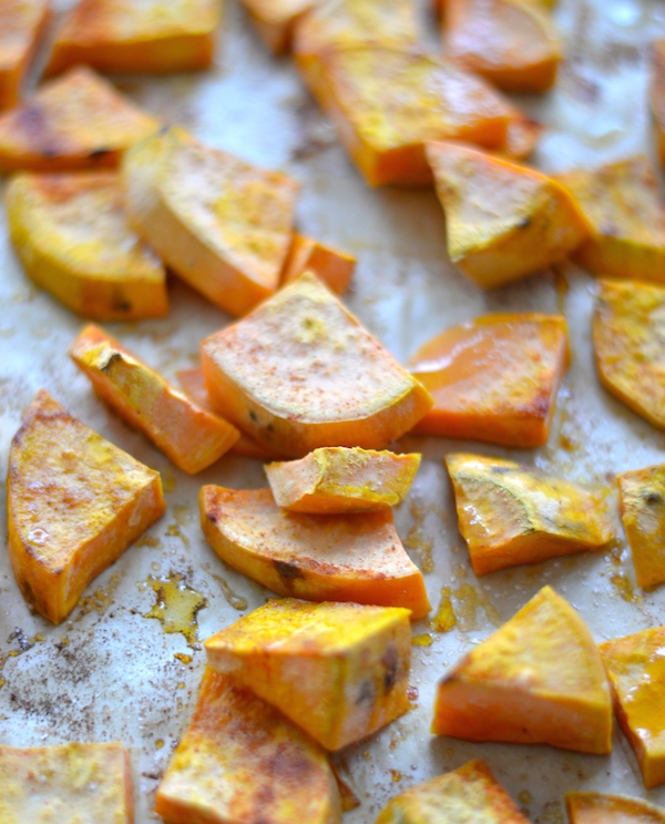 Simple Roasted Sweet Potatoes: Easy Healthy Roasted Sweet Potatoes
