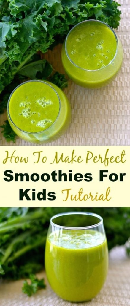 how to make perfect green smoothies for kids