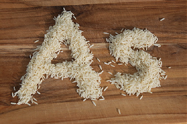 Arsenic (As) in rice