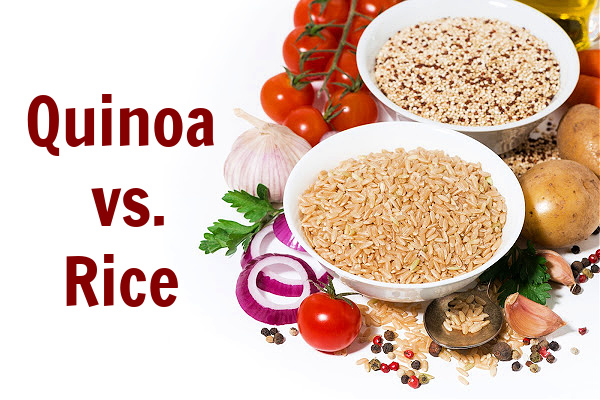 quinoa vs rice, which is healthier?
