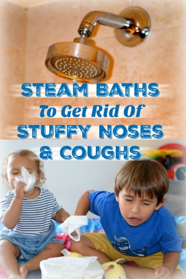 Steam Baths To Get Rid Of Stuffy Noses And Coughs