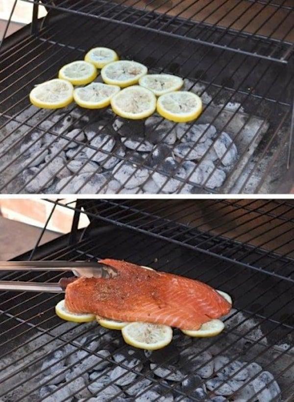 lemon on bbq kitchen hacks