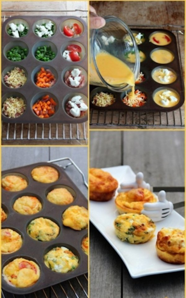 Easy Healthy Breakfast Egg Muffins – Creative Healthy Family